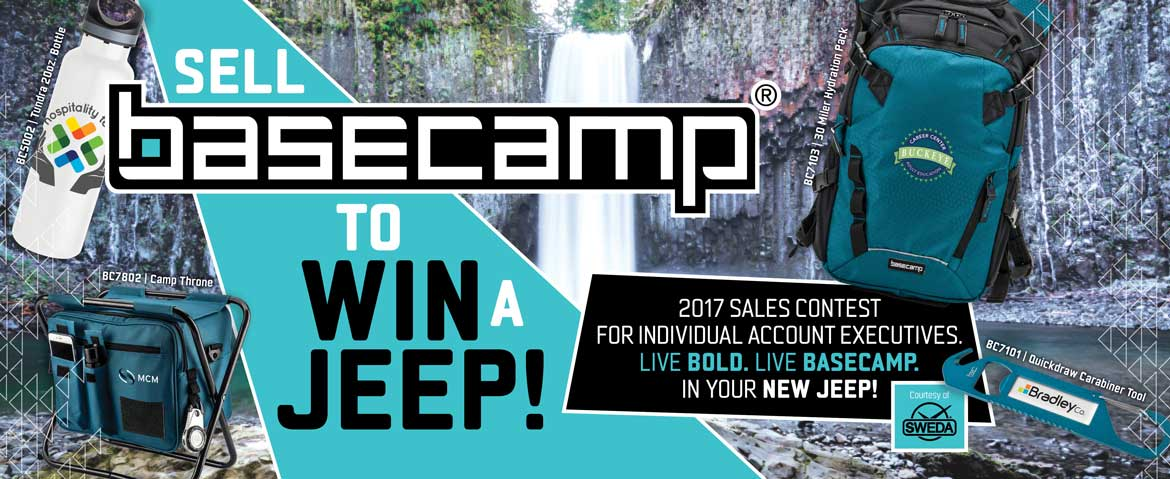 Win a JEEP with BASECAMP!